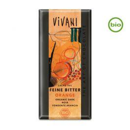 Bio FEINE BITTER ORANGE Schokolade (100g) von Vivani beim Vegankombinat