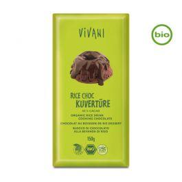 Bio RICE CHOC 40% CACAO Kuvertüre (150g) von Vivani beim Vegankombinat