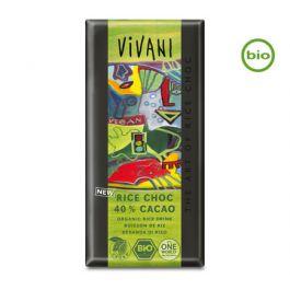 Bio RICE CHOC 40% CACAO Schokolade (100g) von Vivani beim Vegankombinat