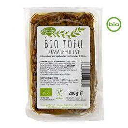 Bio Tofu Tomate-Olive (200g) von Vantastic Foods beim Vegankombinat