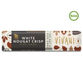 Bio WHITE NOUGAT CRISP Riegel (35g) von Vivani beim Vegankombinat