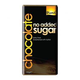 Schokolade ohne Zucker (100g) von Plamil beim Vegankombinat