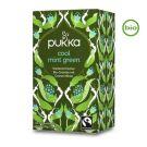 Cool MINT GREEN Tee (30g) von Pukka Herbs beim Vegankombinat